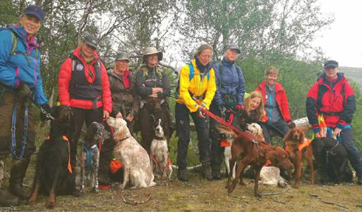 Rypejentene Lesja og Dovre Fuglehundskole